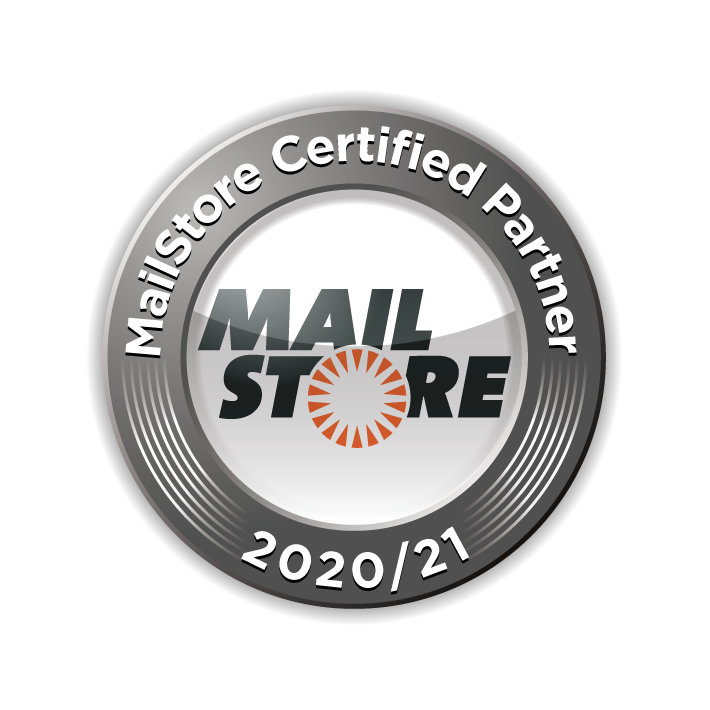 MailStore Certified Partner 2020-2021