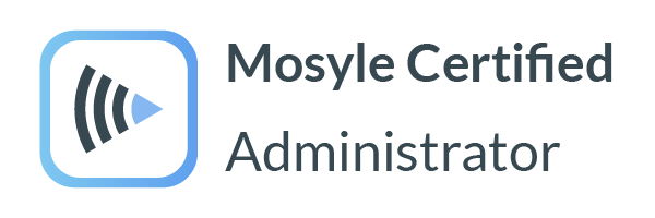 Mosyle Certified Administrator Logo